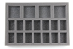 Medium Troop Foam Tray (BFS) 11.5W x 7.625L x 1.5H - BF-BFS-MT15