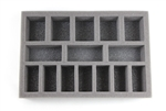 Large Troop Foam Tray (BFS) 11.5W x 7.625L x 1H - BF-BFS-LT1