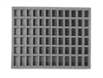 72 TROOP FOAM TRAY (BFL) 15.5W x 12L x 1.5H - BF-BFL-72TN15