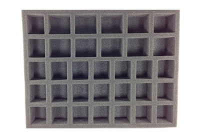 21 Large Standing 12 X-Large Standing Troop Foam Tray (BFL) 15.5W x 12L x 2H - BF-BFL-21L12XS