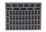 40 Small 6 Large 8 Tall Model Troop Foam Tray (BFL) 15.5W x 12L x 1.5H - BF-BFL-40S6L8T