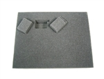 4 Inch Battle Foam Small Pluck Foam Tray (BFS) 11.5W x 7.625L x 4H - BF-BFS-PF4