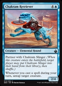 Chakram Retriever - Battlebond - Uncommon
