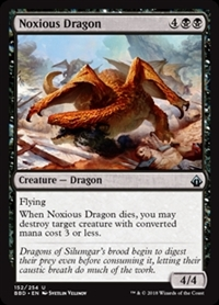 Noxious Dragon - Battlebond - Uncommon
