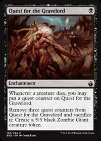 Quest for the Gravelord - Battlebond - Uncommon