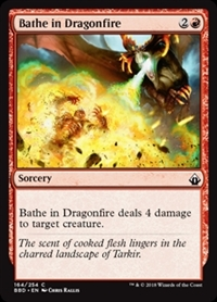 Bathe in Dragonfire - Battlebond - Common