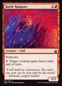 Battle Rampart - Battlebond - Common