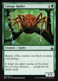 Canopy Spider - Battlebond - Common