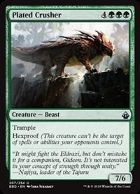 Plated Crusher - Battlebond - Uncommon