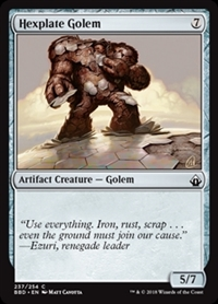 Hexplate Golem - Battlebond - Common