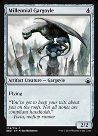 Millennial Gargoyle - Battlebond - Common