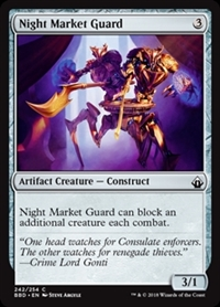Night Market Guard - Battlebond - Common