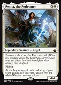 Regna, the Redeemer - Battlebond - Rare