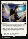 Regna's Sanction - Battlebond - Rare
