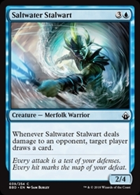 Saltwater Stalwart - Battlebond - Common