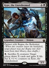 Krav, the Unredeemed - Battlebond - Rare