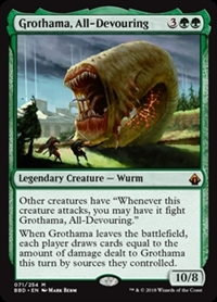Grothama, All-Devouring - Battlebond - Mythic Rare