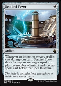 Sentinel Tower - Battlebond - Rare
