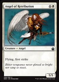 Angel of Retribution - Battlebond - Uncommon