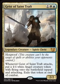Geist of Saint Traft - Duel Decks: Blessed vs. Cursed - Mythic Rare