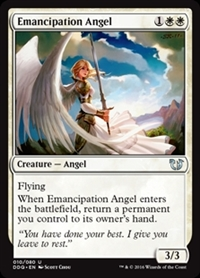 Emancipation Angel - Duel Decks: Blessed vs. Cursed - Uncommon