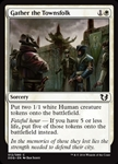 Gather the Townsfolk - Duel Decks: Blessed vs. Cursed - Common