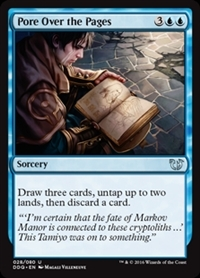 Pore Over the Pages - Duel Decks: Blessed vs. Cursed - Uncommon