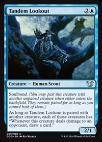Tandem Lookout - Duel Decks: Blessed vs. Cursed - Uncommon