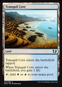 Tranquil Cove - Duel Decks: Blessed vs. Cursed - Common