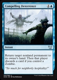Compelling Deterrence - Duel Decks: Blessed vs. Cursed - Uncommon