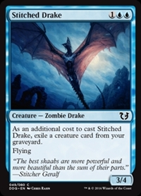 Stitched Drake - Duel Decks: Blessed vs. Cursed - Common