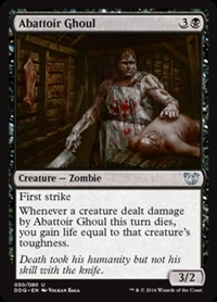 Abattoir Ghoul - Duel Decks: Blessed vs. Cursed - Uncommon
