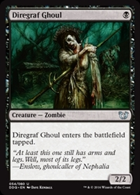 Diregraf Ghoul - Duel Decks: Blessed vs. Cursed - Uncommon