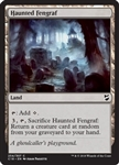 Haunted Fengraf - Commander 2018 - Common
