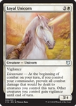 Loyal Unicorn - Commander 2018 - Uncommon