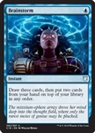 Brainstorm - Commander 2018 - Uncommon