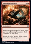 Burning Vengeance - Commander 2019 - Uncommon