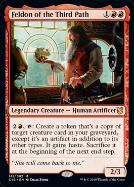 Feldon of the Third Path - Commander 2019 - Mythic Rare
