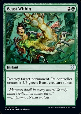 Beast Within - Commander 2019 - Uncommon
