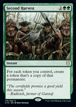 Second Harvest - Commander 2019 - Rare