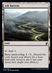 Ash Barrens - Commander 2019 - Common