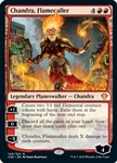 Chandra, Flamecaller - Ikoria Commander 2020 - Mythic Rare
