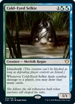 Cold-Eyed Selkie - Ikoria Commander 2020 - Rare
