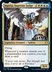 Isperia, Supreme Judge - Ikoria Commander 2020 - Mythic Rare
