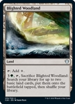 Blighted Woodland - Ikoria Commander 2020 - Uncommon