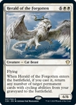 Herald of the Forgotten - Ikoria Commander 2020 - Rare