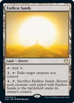 Endless Sands - Ikoria Commander 2020 - Rare