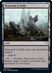 Memorial to Folly - Ikoria Commander 2020 - Uncommon