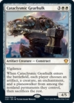 Cataclysmic Gearhulk - Ikoria Commander 2020 - Mythic Rare
