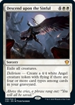 Descend upon the Sinful - Ikoria Commander 2020 - Mythic Rare
